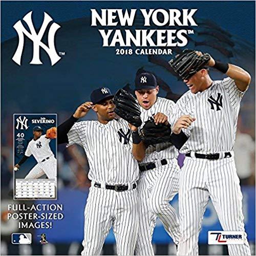 New York Yankees 2018 Calendar